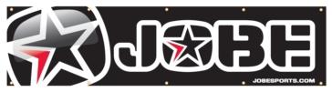 Bannière JOBE 75 cm x 300 cm