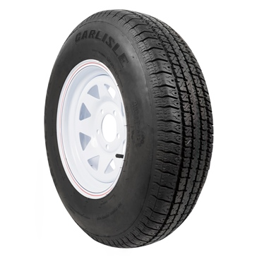 CARLISLE Radial Trail HD Trailer Tire and Wheel