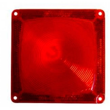 Fulton Wesbar Standard Taillight Red