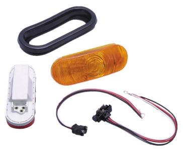 Stop light FULTON WESBAR Oval Tail Light Kit