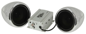 Haut-parleur et amplificateur, 600W BOSS AUDIO