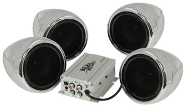 Boss Audio 800W Audio Speaker & Amplifier System Universal