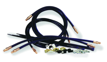 Electronic TIE DOWN Brake Line Kit for Tandem Axle