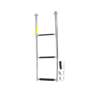 Telescopic - 3 GARELICK Out of Sight under Platform Telescoping Ladder