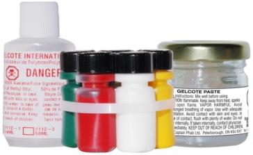 Trousse de réparation Gelcote multi-couleurs CAPTAIN PHAB  Liquide