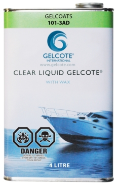 Captain Phab  Liquid Gelcote with Wax