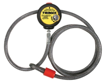 Extra measure of protection TRIMAX Lock Cable, Versa