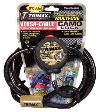Trimax Lock Cable, Versa Cable Lock - 721676