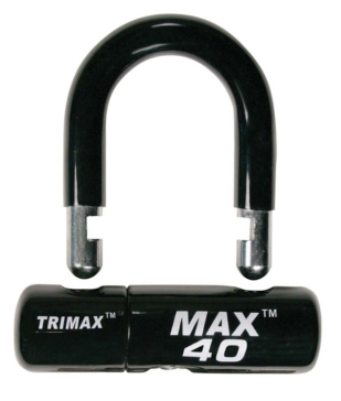 "Trimax Black ""U"" Lock"