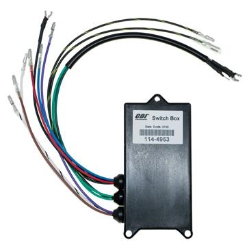 CDI  3 Cylinder Mercury Switch Box: 114-4953