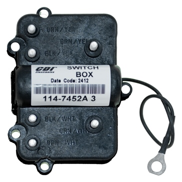 CDI  2 Cylinder Mercury Switch Box: 114-7452A 3