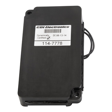 CDI  3 & 6 Mercury Cyl. Switch Box: 114-7778