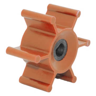 JOHNSON PUMP Ballast Pump Impeller Fits Jabsco, Fits Johnson/Evinrude