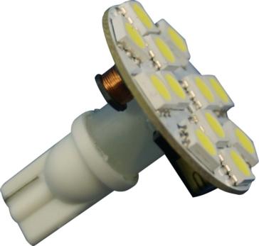 Ampoule, 12 DEL SMD ECLAIRAGE VR T10, T15