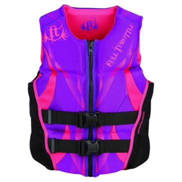 ONYX Hinged Flex-Back Neoprene Vest, Woman