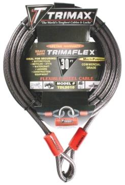 Câble de verouillage multiusage TRIMAX Assurer une protection additionnelle