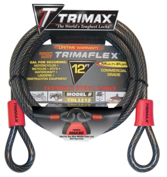 Trimax Multi-Use Lock Cable Cable Lock - 723664