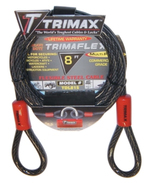 Trimax Multi-Use Lock Cable Cable Lock - 723665