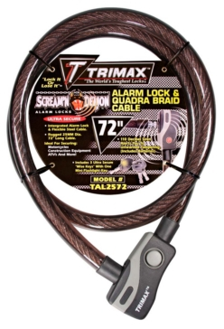Extra measure of protection TRIMAX Lock Cable, Steel