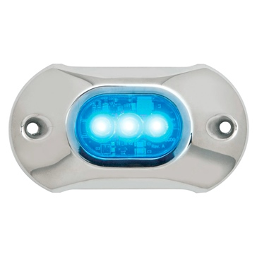 Attwood Lampe submersible bleu, 3 DEL