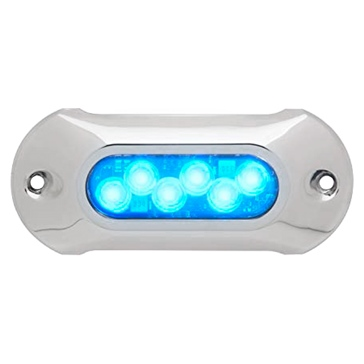 Attwood Lampe submersible bleu, 6 DEL