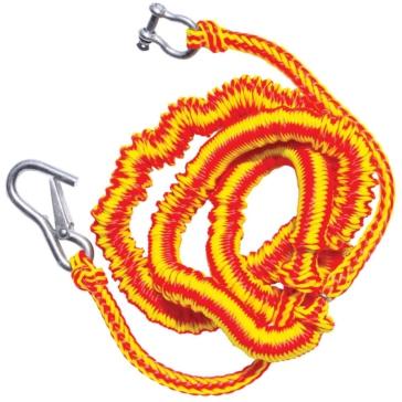 KwikTek 1120 lbs Bungee Dock Line 7' to 22' - Polypropylene - Bungee Rope