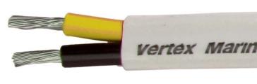 100' - 214081001 VERTEX Duplex Flat Wire