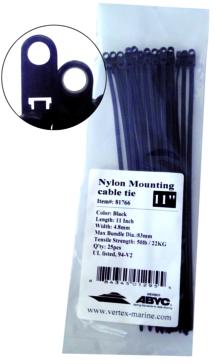 """11"""" VERTEX Nylon Cable Tie Wrap"""