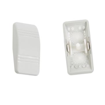 Interrupteur gris Contura III - 2  lentilles SIERRA