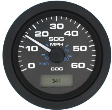 Sierra GPS Speedometers - 60 MPH Boat - 781-627-060P