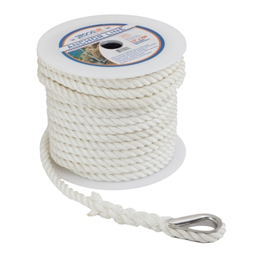 "SEA DOG Twisted Nylon Anchor Line 100' - 3/8"" - Nylon - Twisted"