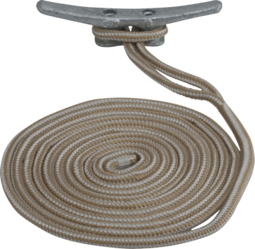 "SEA DOG Double Braided Nylon Dock Line 25' - 3/8"" - Nylon - Double Braided"