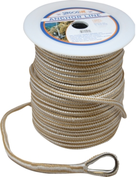"SEA DOG Ligne d'ancrage double en nylon 250' - 1/2"" - Nylon - Double"