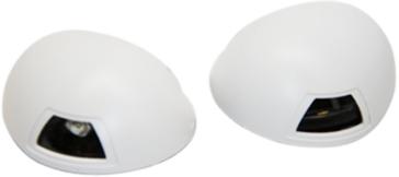 Feu de navigation latéral dorsal à LED SEA DOG Feux latéraux - Oui - Blanc