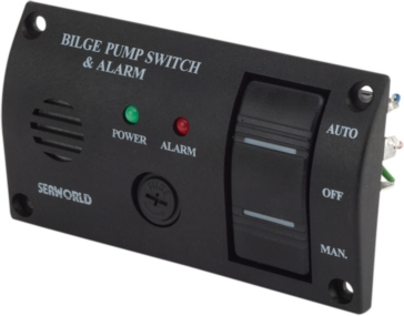 SEA DOG Bilge Pump Switch & Alarm Panel