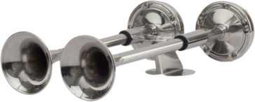 SEA DOG Compact Twin Trumpet Horn