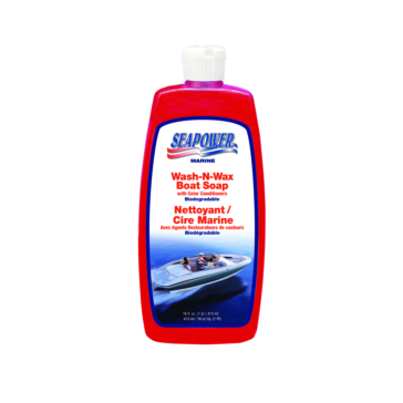 16 oz SEAPOWER Wash and Wax Boat Soap