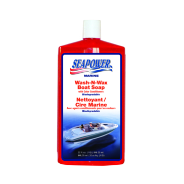 32 oz SEAPOWER Wash and Wax Boat Soap