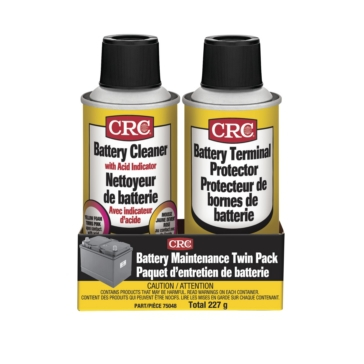 Aerosol CRC Battery Maintenance Twin Pack, Care Product