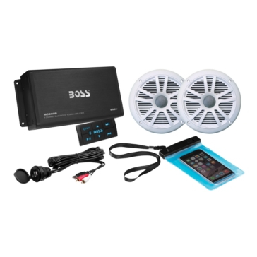 2 - 500 W BOSS AUDIO Audio Receiver Kits Bluetooth AMP