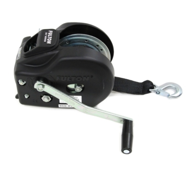 FULTON WESBAR 2-Speed Winch with HD Strap