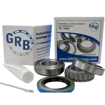 GRB BEARING Trailer Wheel Bearing Kits, TK 1000