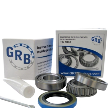 GRB BEARING Trailer Wheel Bearing Kits, TK 1063