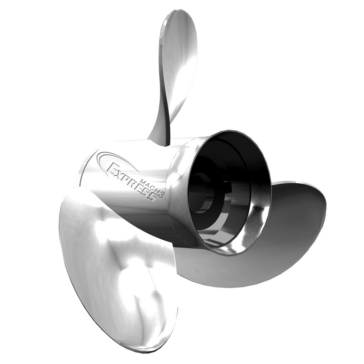 Turning Point Express Propeller Fits Honda, Fits Yamaha, Fits Suzuki - Stainless steel