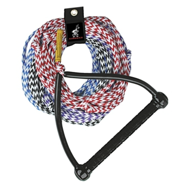 AIRHEAD Tournament Water Ski Rope 4 section ski tow rope