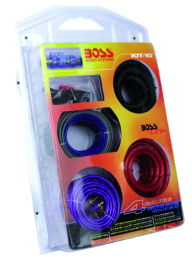 BOSS AUDIO 4 Gauge Amplifier Installation Kit