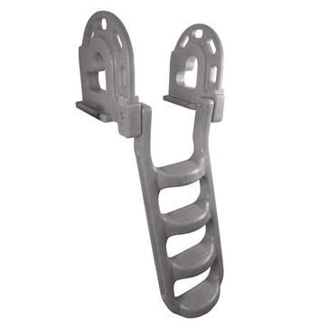 Foldable - 4 DOCK EDGE  Molded Folding Ladder