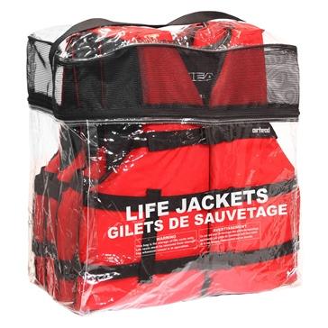 AIRHEAD Gilets de sauvetage traditionnelles avec sac de rangement