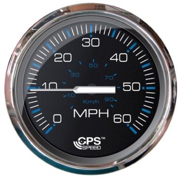 Faria Black Speedometer Chesapeake Boat - 732486