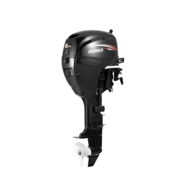 HIDEA 15 HP Outboard Engine, Long Shaft with Electric Starter